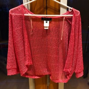 Pink Jones New York cardigan-bolero